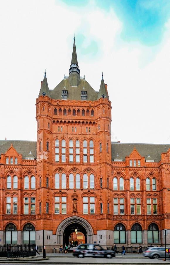 Londen, het UK - 31 Mei, 2017: De voorzorgs- Verzekeringsbouw in Hoogte royalty-vrije stock foto