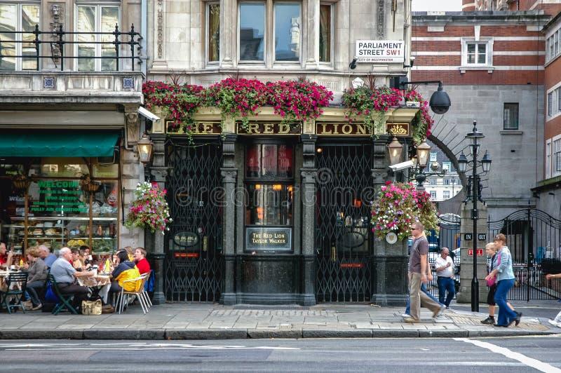Londen in het UK royalty-vrije stock afbeeldingen