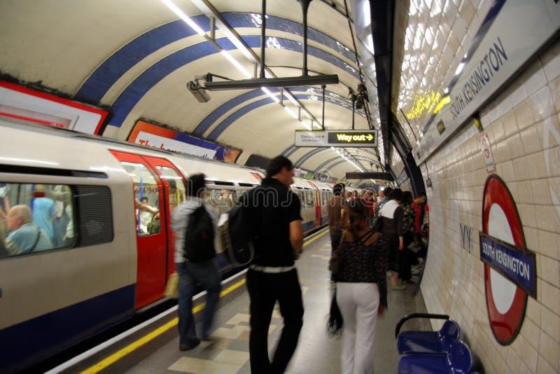 Londen ondergronds stock afbeeldingen