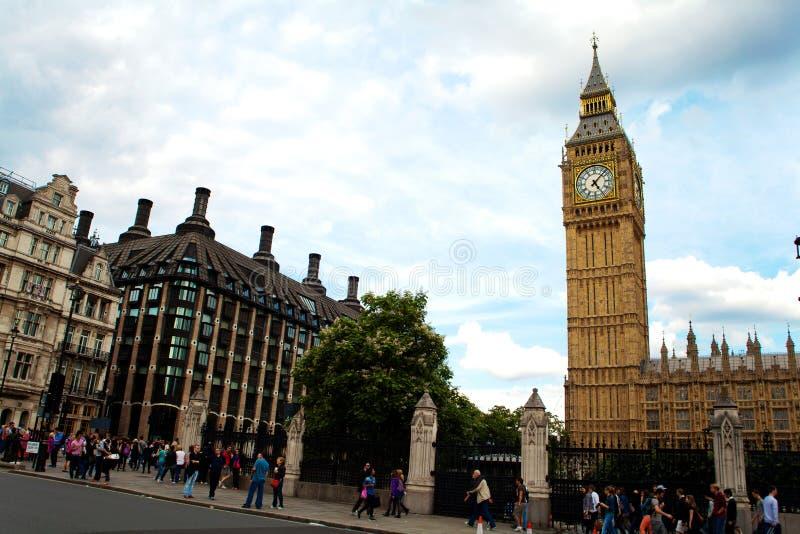 Londen van de Big Ben Westminster stock afbeelding