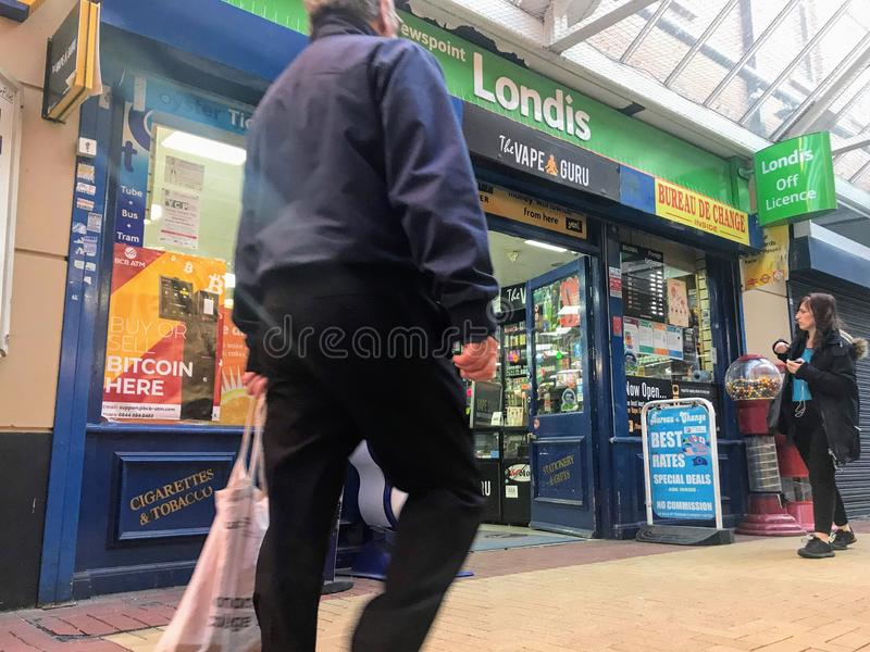 Londis store royalty free stock photography