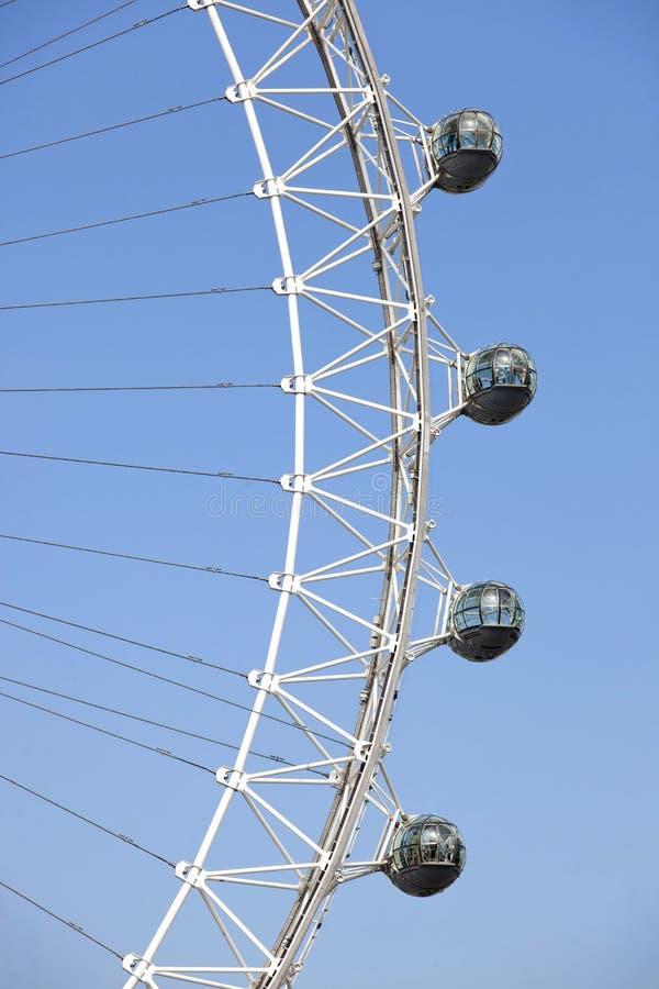 London ögondetalj arkivfoton