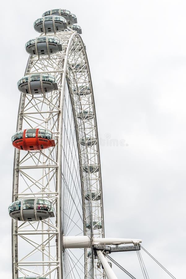 London ögonkapslar royaltyfri bild