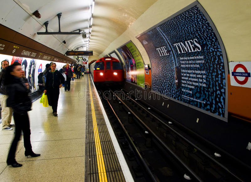 london подземный стоковое изображение rf