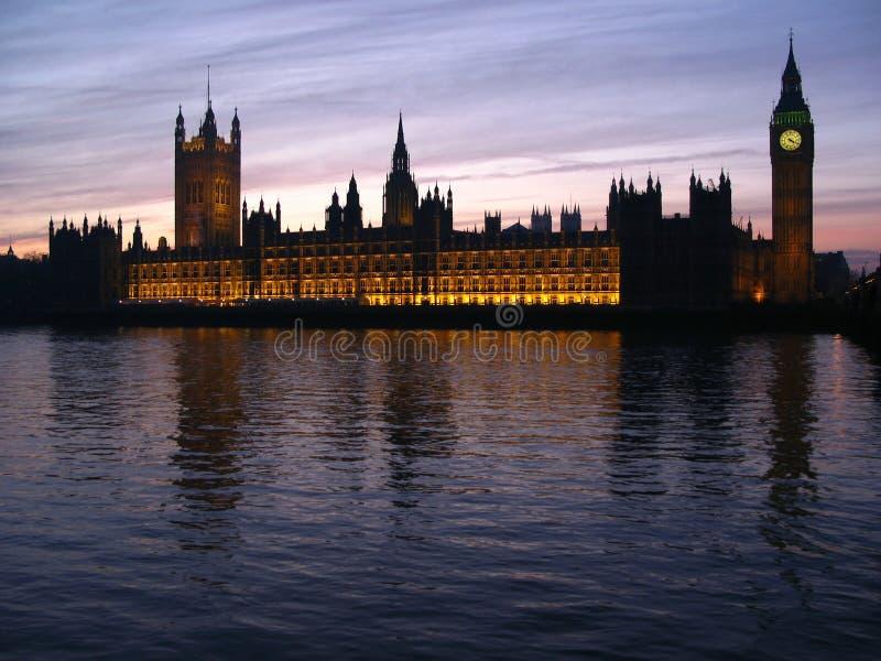 London 03 rodzimego parlamentu obrazy stock