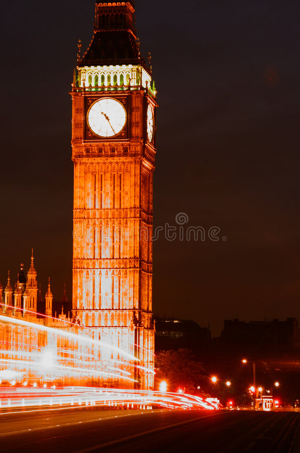 Download London stock photo. Image of traffic, light, city, time - 1030444