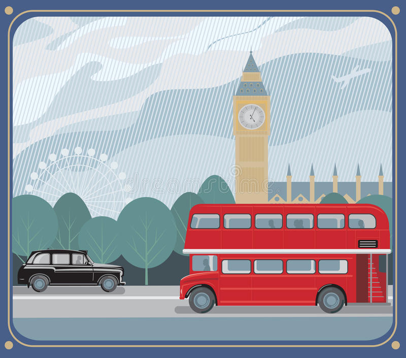 london stock illustrationer