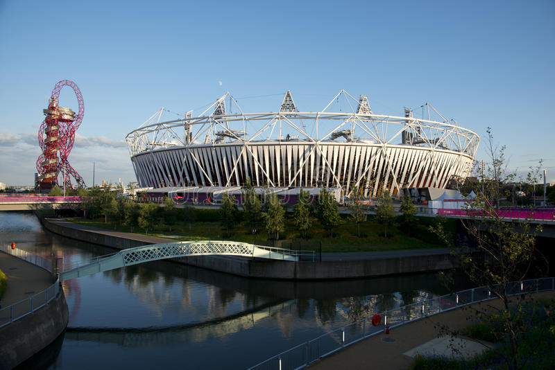 Download London 2012 editorial stock image. Image of water, sculpture - 25977294