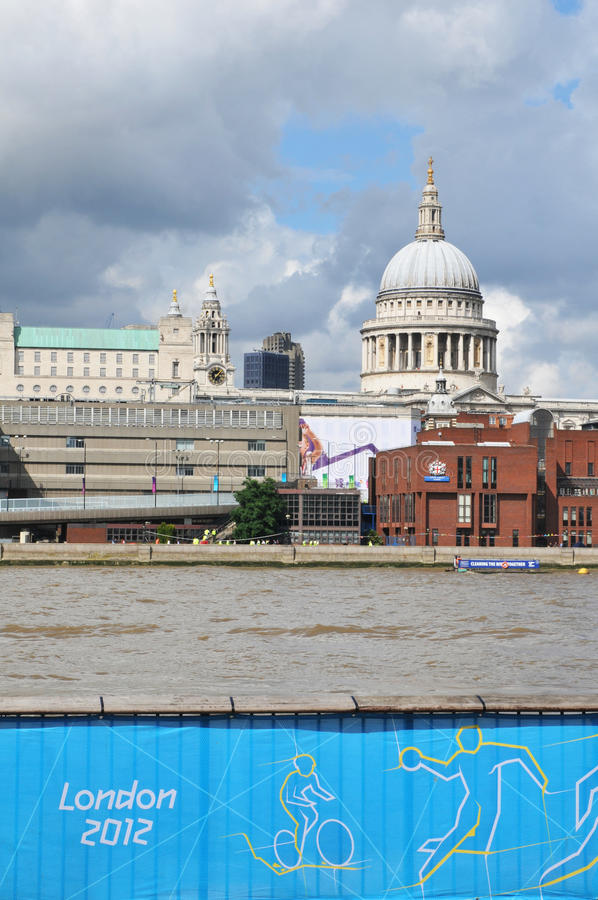 Download London 2012 editorial photography. Image of thames, british - 26027257
