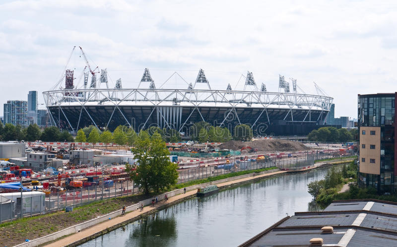 London 2012 Olympic Stadium royalty free stock photo