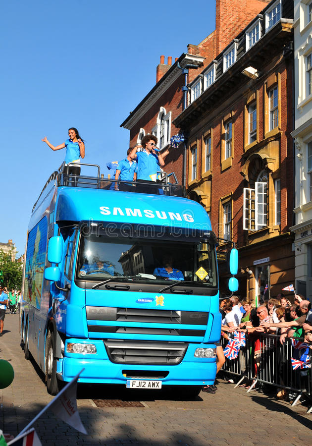 Download London 2012 Olympic Torch Relay Editorial Stock Photo - Image: 25486778