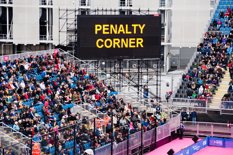 Download London 2012: Penalty Corner Editorial Photo - Image of landmark, board: 24661306