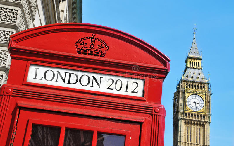 Download London 2012 Summer Olympic Games Stock Image - Image of kingdom, phonebox: 25650013