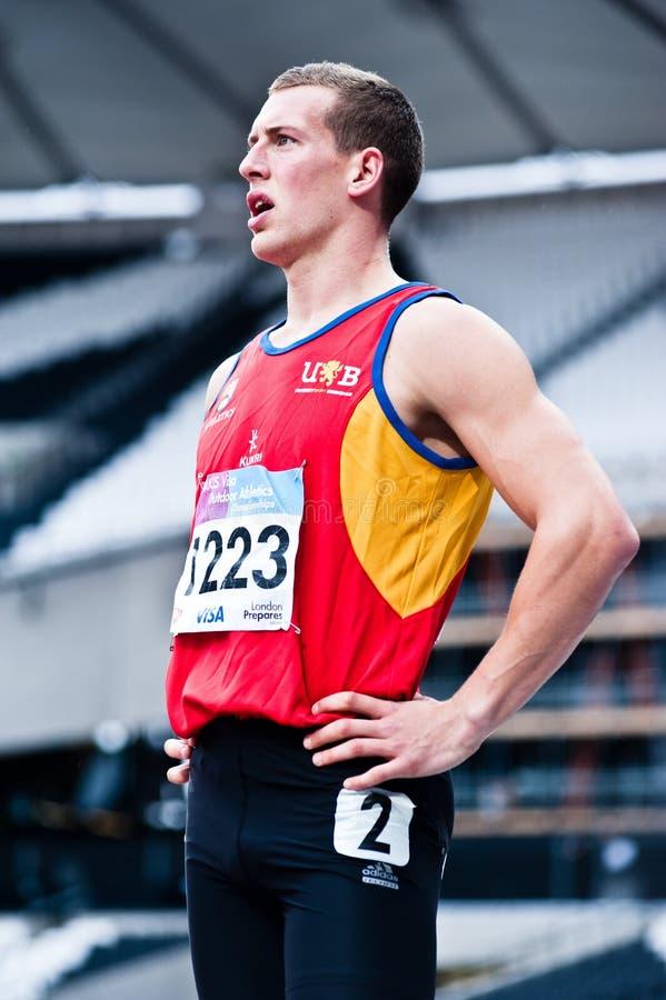 London 2012 test events: athlete