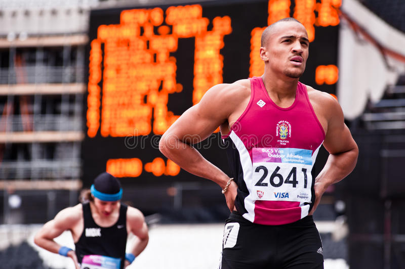 London 2012 Test Events: Athletes Editorial Stock Photo