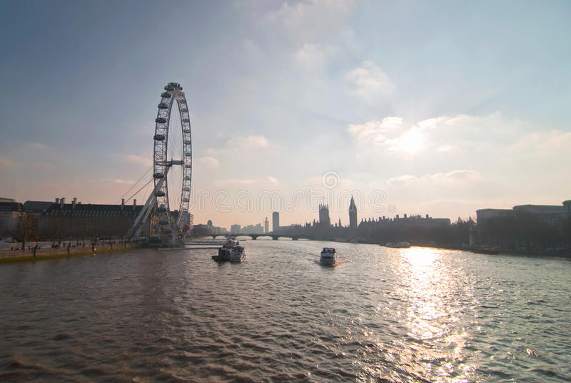 London Editorial Stock Photo