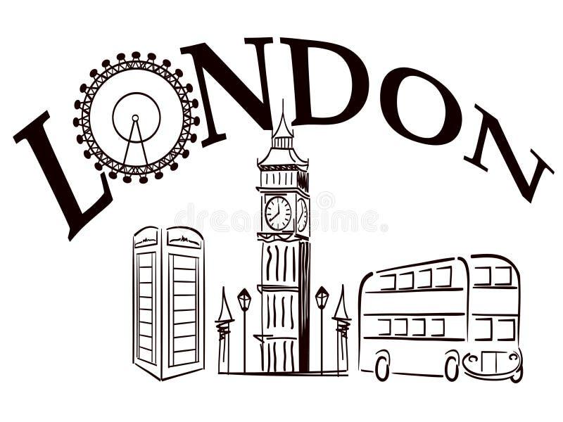 London vektor abbildung