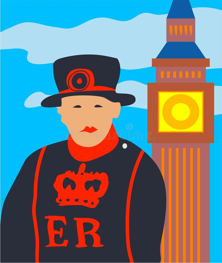 london royalty ilustracja