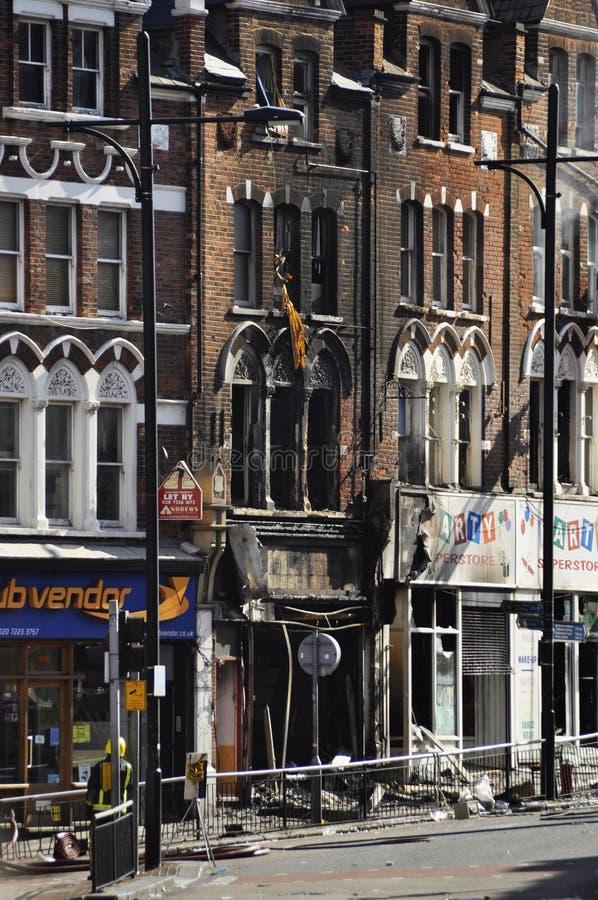 LONDON - 9. AUGUST: Clapham Verzweigungsbereich ist sacke