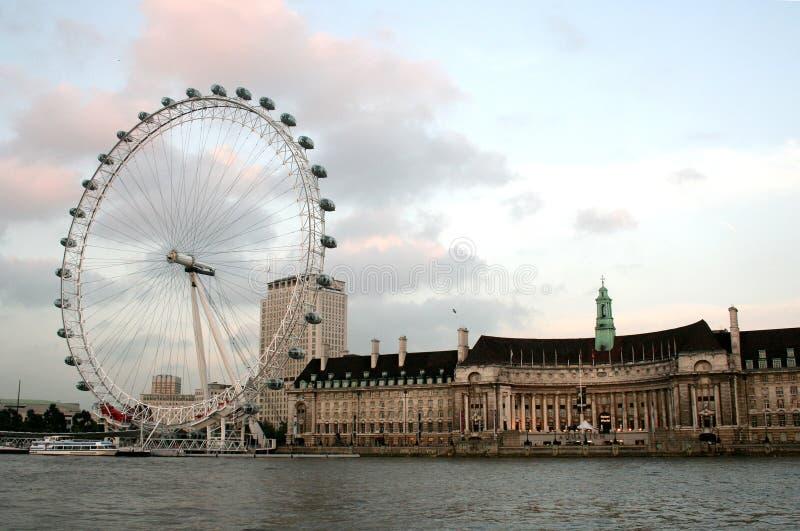 London-Auge lizenzfreie stockfotografie