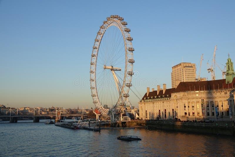 London-Auge, London England stockfoto