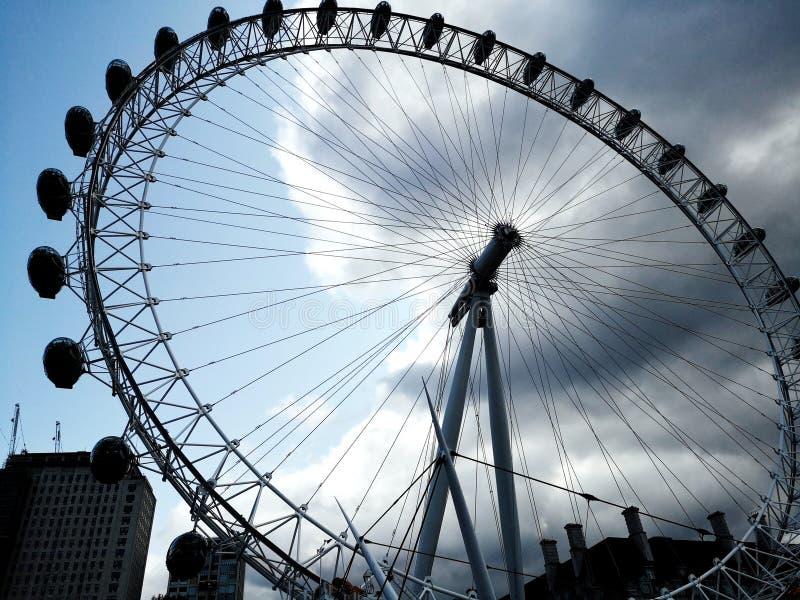 London-Auge in London england stockbilder