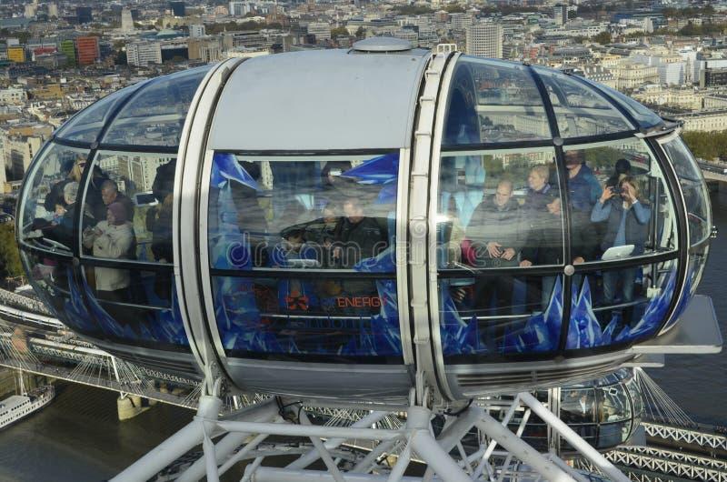 London-Auge in London lizenzfreies stockbild