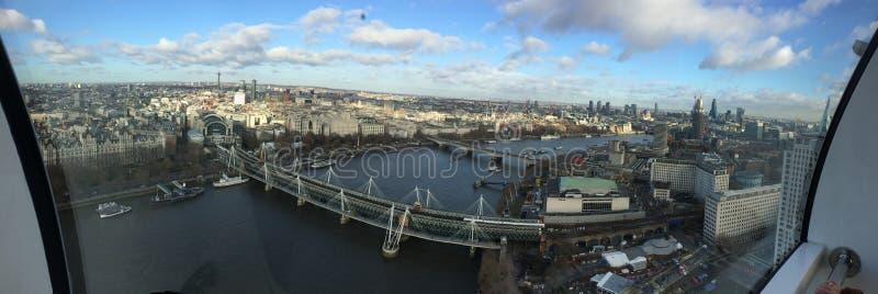 London-Auge in London stockfotografie