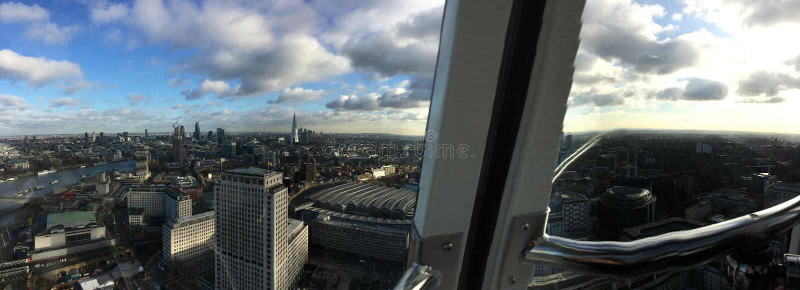 London-Auge in London stockbilder
