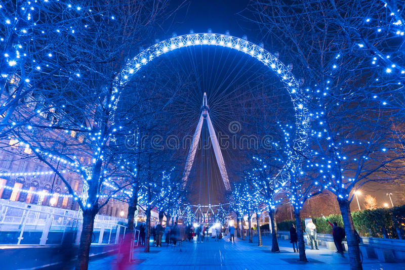 London-Auge in London lizenzfreies stockbild