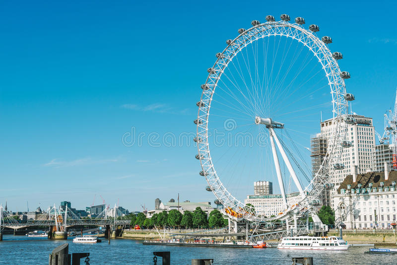 London-Auge in London stockbild