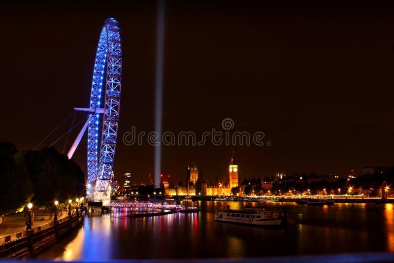 London-Auge Westminster London Big Ben lizenzfreies stockbild