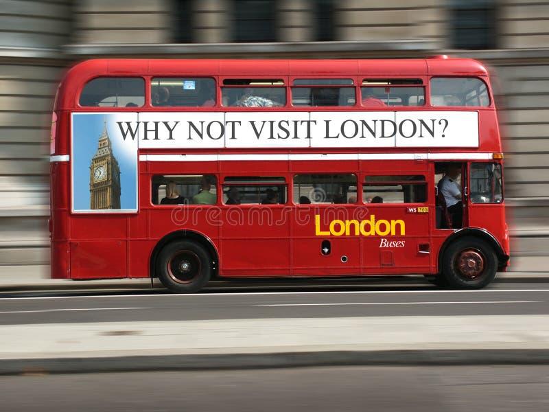 London autobus zdjęcie stock