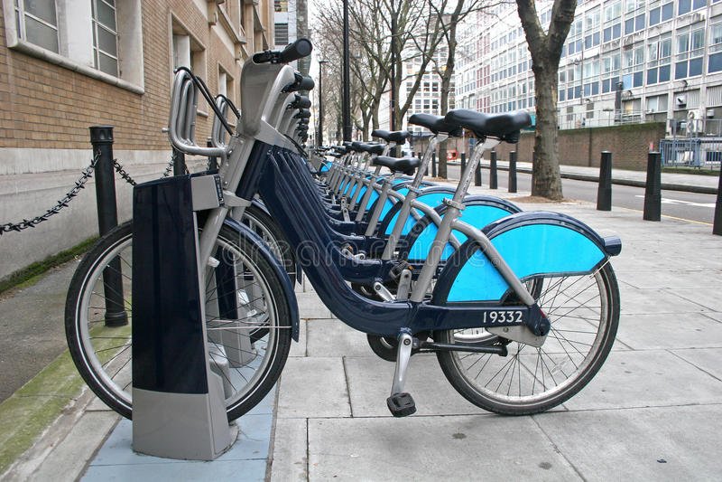 London Bicycles Royalty Free Stock Photos