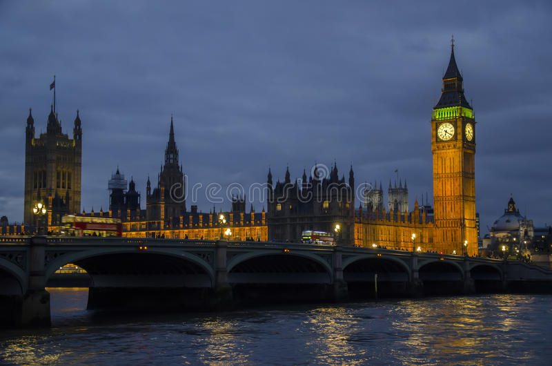 London big ben royalty free stock images
