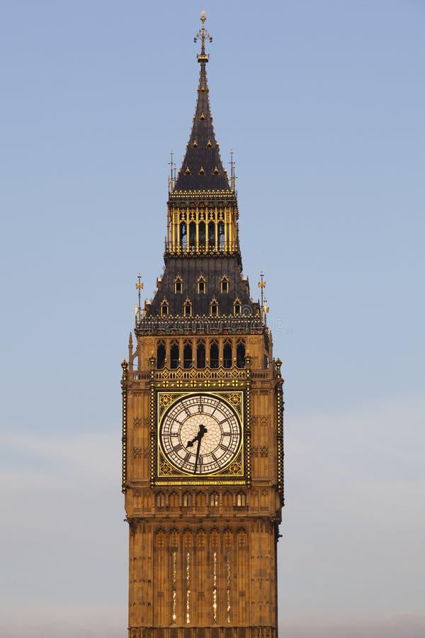 London - Big Ben Tower Clock tower. High Resolution image of Tower Clock - Big Ben of London royalty free stock images