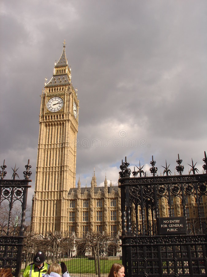 London - Bigben stockfoto
