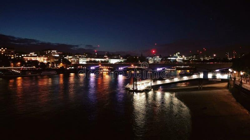 London bis zum Night stockfoto