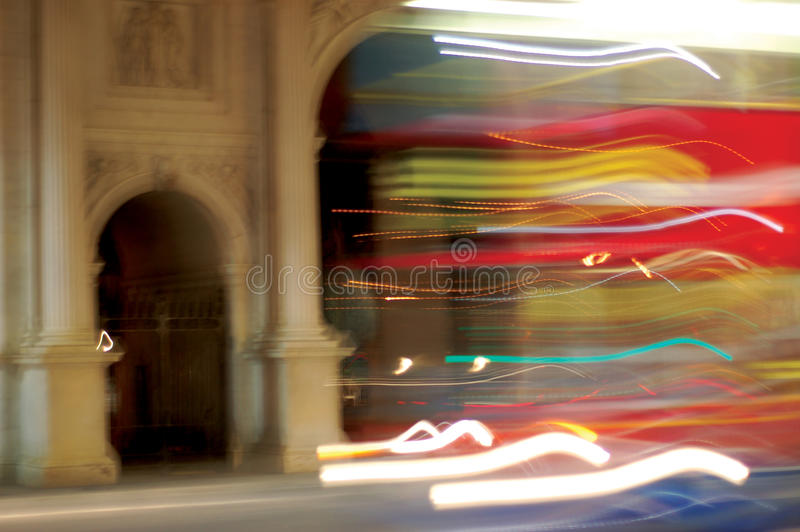 London Blur stock photos