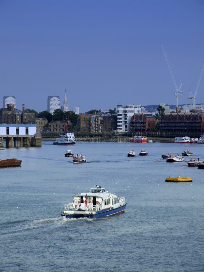 London Boats Royalty Free Stock Photos