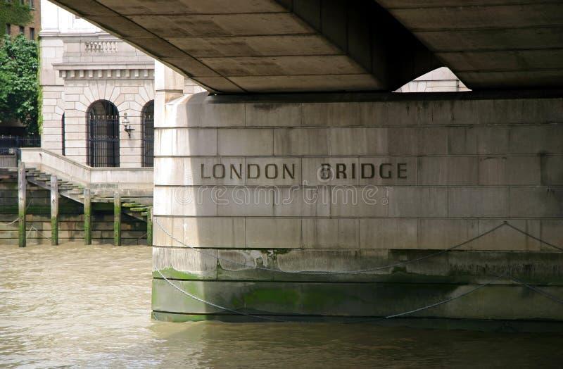 London-Brücke stockfotografie