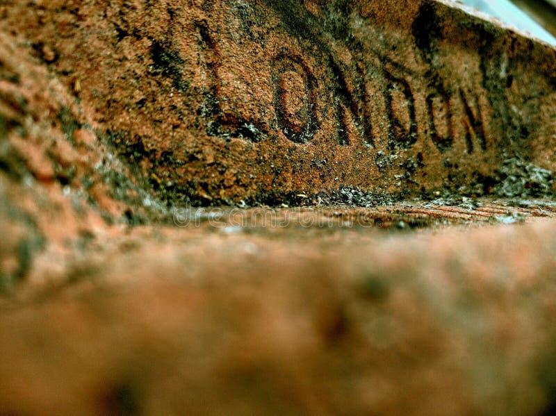London brick royalty free stock photography