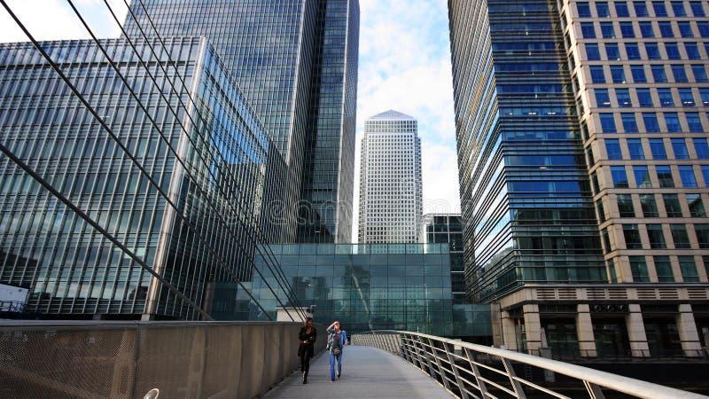 london bridżowy kanarowy mały nabrzeże obrazy royalty free