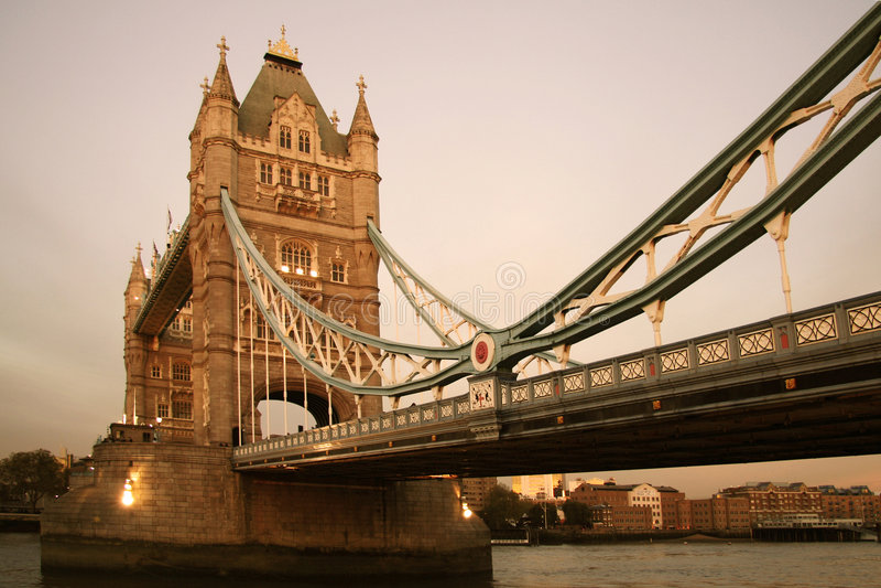 Download London Bridge stock photo. Image of scenic, tower, angle - 408384