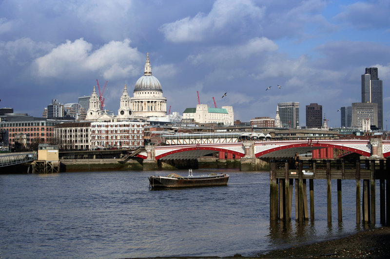Download London Bridge stock photo. Image of skyline, sightseeing - 599658