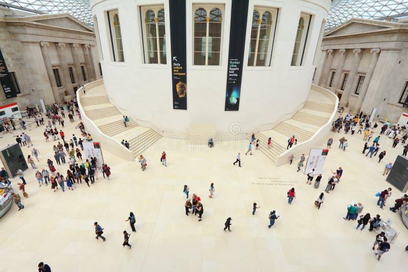 London British Museum lizenzfreie stockfotos