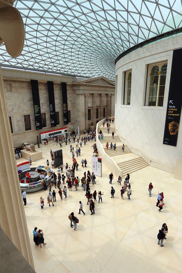 London British Museum lizenzfreies stockbild