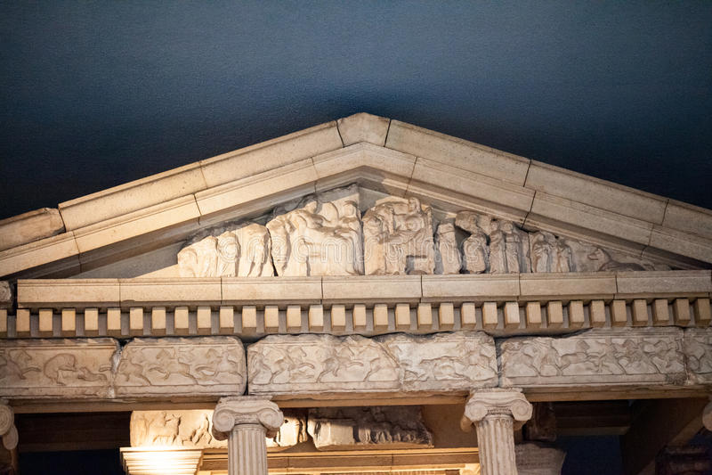 Fries Architektur museum griechisches enormes fries mit helden und