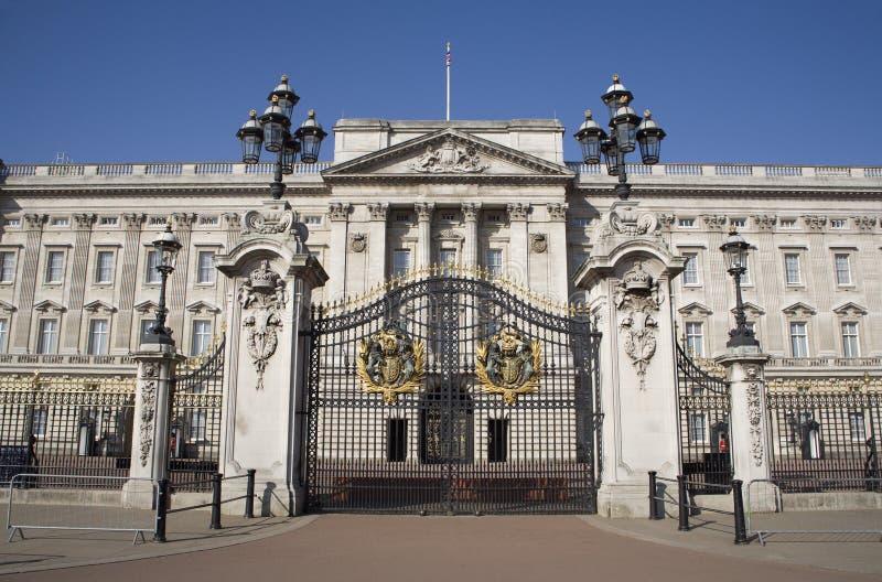 London - Buckingham palace and gate royalty free stock images