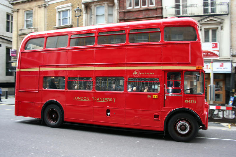 Download London bus editorial stock image. Image of road, color - 13058254